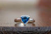 010/365/2018: Ring (Mrs Daisy) Tags: ring engagement engagementring celebration jewellery platinum sapphire blue bluesapphire ceylon ceylonsapphire