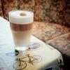 Mein erster selbstgemachter Latte macchiato 😊 (Christian Passi - Steher82) Tags: lattemacchiato latte macchiato milch milk coffee espresso illy bike fahrrad food drink vintage italien italy italia siebträger