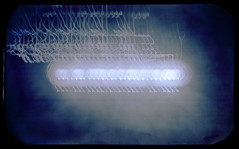 Orchestrated spin (batuda) Tags: solargraphy solargraph solarigraphy solarigrafia pinhole obscura stenope lochkamera analog analogue sun solar solarpath track trail multi multiple landscape skyscape color colour altoids tin mediumformat 6x9 winter šančiai kaunas lithuania lietuva