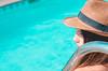 Regina (Isaias Fotografía - Junior Works) Tags: mujer joven photo woman women summer verano piscina model modelo chile chilean santiago photography fotografia foto fotografía sombrero persona gente azul cielo postproducción photoshop lr
