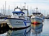 Fishing port of Vilanova i la Geltrú / Catalonia (Domènec Ventosa) Tags: vilanova cataluña puerto barcas pesca pesqueros mar agua mediterráneo costa pescado marisco amarre catalonia port boats fishing sea water mediterranean coast fish seafood mooring