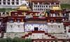 Ganden Namgyal Ling, Tibet 2017 (reurinkjan) Tags: tibetབོད བོད་ལྗོངས། 2017 ༢༠༡༧་ ©janreurink tibetanplateauབོད་མཐོ་སྒང་bötogang tibetautonomousregion tar ütsang lhasaautonomousprefecture taktséསྟག་རྩེ།county gandenmonastery དགའ་ལྡན་ gandennamgyalling tsongkhapa roofཐོག་ཁ་ topornamentofatempleroofག་ga