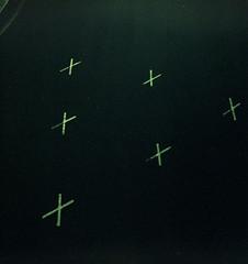 X triangle (pho-Tony) Tags: xpro fujivelvia felita 6x6 6cmx6cm roll film 120 rollfilm medium format mediumformat box boxcamera german germany 1950s 1955 simple cheap iso100 expired fuji velvia 100 slide crossprocessed tetenal