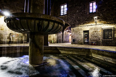 Fountain - Sant Felip Neri (j.borras) Tags: fountain santfelipneri long exposure night street photography silk effect barcelonafountain barcelona
