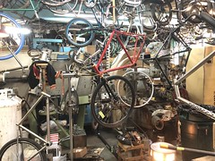 The action is non-stop #winterslowdown #offseason (Bilenky Cycle Works) Tags: winterslowdown offseason
