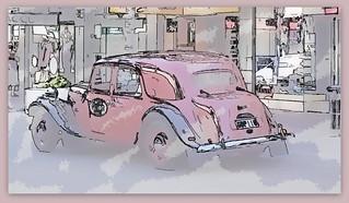 1953 Citroën Big 15 - 'Rene'