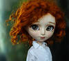 Say hello to Kisu, my third boy! (Virvatulia) Tags: pullip isul ooak custom customized custo isulcustom isulooak customisul groovedoll portrait red curly mohair wig redhead sweet boy cute doll freckles kikiandherdolls kikiandchrysantemum kiki chrysantemum fullcustom fc
