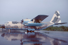TK10-7 Lockheed KC130H RAF Greenham Common 24-06-79 (MarkP51) Tags: tk107 lockheed kc130h hercules spanishaf spaf rafgreenhamcommon turboprop military transport tanker airshow aircraft airplane plane image markp51 kodachrome slide film scan aviationphotography