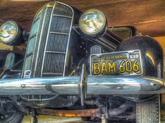 BAM606 HDR (tubblesnap) Tags: lake tahoe nevada california 25th silver wedding anniversary trip holiday vacation celebrations emerald bay hdr tonemapped bam606 classic american car