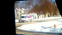 FedEx delivery truck - HTT 365/98 (Maenette1) Tags: fedex delivery truck neighborhood menominee uppermichigan happytruckthursday flicker365 michiganfavorites project365