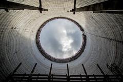 Reactor 6 Cooling Tower - Chernobyl (Craig Hannah) Tags: reactor6 coolingtower chernobyl nucleardisaster chernobylnuclearpowerstation radioactivecontamination radiation sky within zoneofalienation hazardousarea craighannah september 2017 exclusionzone inside powerstation abandoned derelict decay derelectbuilding disused concrete structure construction ukraine disaster 30kilometrezone