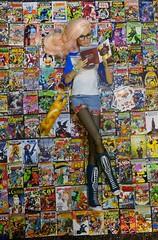 Comicbook Geek (MiskatonicNick) Tags: liuliuling comics integritytoys playscale 16 toyville comic geek
