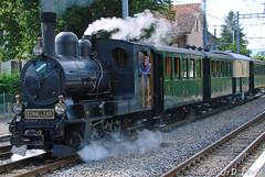 Loc vapeur G3/3 du LE (1) (jean-daniel david) Tags: locomotive vapeur train transport fumée noir vert arbre rails suisse suisseromande historique echallens lausanne fabuleuse