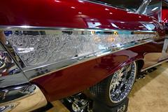 1957 Chevrolet BelAir (bballchico) Tags: 1957 chevrolet belair stevenoesser lowrider custom grandnationalroadstershow carshow trifive