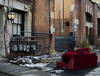 Red Velour (geowelch) Tags: toronto libertyvillage urbanfragments urbanlandscape newtopographics urbandecay olympusomdem5 olympusmzuiko25mm18