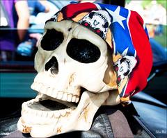 faceoff... (Stu Bo) Tags: fun funky face skull musclecar carshow sbimageworks