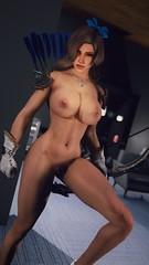 Marisa | Cobalt (nude) (noirslate) Tags: skyrim nude nsfw 4k 2k portrait girl character sexy video game screenshot milf