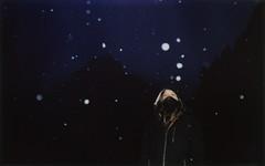 28 (Federica [C]) Tags: fujifilminstax100 fujifilm instax polaroid snow neve dark darkness boy man flash analogcamera analog analogue analogico analogic analogica amazing winter inverno mountains montagne sky cielo italy italia indie grunge vintage softgrunge darkvintage darkgrunge delicate grain snowing snowy nevicata