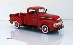 1951 Ford F-1 Series Pickup Truck (JCarnutz) Tags: 124scale diecast danburymint 1951 ford f1series pickuptruck
