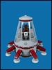 Simian Class Personal Lander (Karf Oohlu) Tags: lego moc milleniumfalconcanopy monkey scifi lander landingcraft