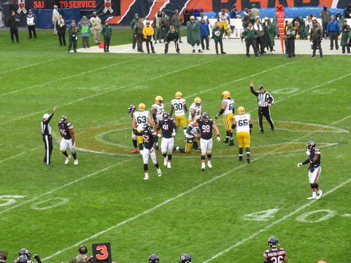bears vs packers. november 2017