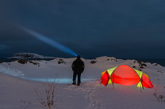 Arctic camping. (Kjell75) Tags: polarphoto wildvaranger visitvardø vardø norway northernnorway nrkfinnmark nrk bbc ngc pentaxart pentax ricoh tamron arctic winter cold hornøya