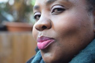 DSC_9263 Dalston Gillette Square London Zinhle aka Promise Portrait Beautiful Lips you want to Kiss