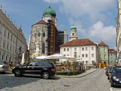 St Stephen's Cathedral in Residence Square in Passau Germany (bellrich1941) Tags: danuberivergermany passau