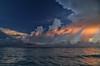 Remembering the clouds (Robyn Hooz) Tags: virgas passion clouds pioggia rain cuba alba nuvole mare sea caribbean caraibi geometry train memories ricordi