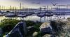 Howth (Ireland) (Antonio Camelo) Tags: nikon nature naturaleza sky sunset sea mar ireland irlanda photo port puerto roca rock colours cielo colores howth boat barco