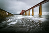 Low Altitude (R Macnamara) Tags: forth rail bridge scotland winter motion slow shutter canon