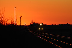 UP 8500 Take 2 (CC 8039) Tags: up trains sd70ace ac44cw sunset rochelle illinois