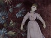 The Vagabond_old cloth doll (leaf whispers) Tags: early americana folk art rag doll toy primitive handmade cloth antique vintage old victorian obsolete moldednose moldedears individualfingers stuffed folkart