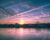 Waterloo Sunset (aka Buddy) Tags: 2018 winter sunset shrewsbury river rumson seabright nj og hdr