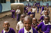 Hello (allentimothy1947) Tags: africa arusha children happy places student tanzania boys buidling girls head purple rooms school standing uniforms education building uniform learning play smile