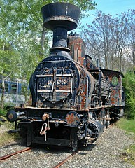 ÖBB steam locomotive 55.5708 (Loco Steve) Tags: locomotive austria strasshof steam railway eisenbahnmuseumstrasshof museum 555708 öbb