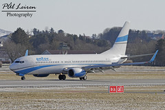 Enter Air - SP-ENG - 2018.03.03 - ENZV/SVG (Pål Leiren) Tags: stavanger sola norway svg enzv flyplass airport planes plane planespotting aviation aircraft runway rw airplane canon7d 2017 airliner jet jetliner february february2018 enter air speng boeing 7378cxw b738 enterair
