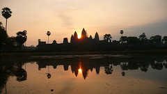 Angkor, Encore ! (Eye of Brice Retailleau) Tags: angle beauty composition landscape outdoor panorama paysage perspective scenery scenic view extérieur ciel sky backpacking earth travel vista reflection reflet mirror colourful colours light sunset architecture building urban city cityscape blue bleu unesco temple asia asie cambodia cambodge siem reap angkor angkorvat eau bâtiment skyline sunrise sunrising