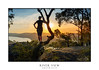 Views over the river (sugarbellaleah) Tags: rocks lookout view river sunlight sunshine trees gumtrees nature landscxape water summer geology environment sky clouds sunset afternoon australia watching looking scenery