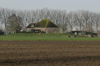 Terpboerderij De Elshoeve, De Biesboschpolder, Dordrecht