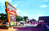 Sunset Lodge, Abilene, Texas (Thomas Hawk) Tags: abilene america sunsetlodge texas usa unitedstates unitedstatesofamerica vintage motel neon pool postcard swimingpool fav10