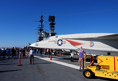 PC271113 (photos-by-sherm) Tags: uss midway san diego ca museum aircraft carrier airplanes fighters bombers winter flightdeck interior exterior people christmas