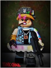 Tank Girl (LegoKlyph) Tags: lego custom mini figure brick block toy comic book australia movie punk chick wasteland water pw tank girl