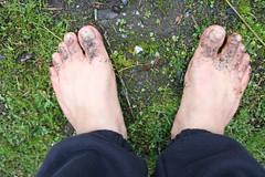 IMG_1226 (bfe2012) Tags: barefoot barefeet barefooting barefooted barefooter barefoothiking barefootlifestyle feet dirtyfeet toughsoles
