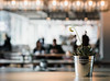 Sunday (V Photography and Art) Tags: bokeh cafe light 85mm blur people