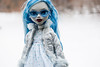 Monster High Ghoulia Yelps (portraitdiva) Tags: monsterhigh ghouliayelps mga doll muneca poupee puppe boneca snow winter
