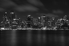sydney lights (Greg Rohan) Tags: dark clouds cityscape skyline skyscrapers building buildings sydney monochrome blackandwhite bw nightphotography nightlights lights d750 2018 nikkor nikon city sky sea water night skyscraper