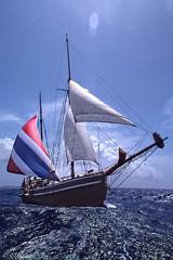 Sailing Roatan 1980 (Gary P Kurns Photography) Tags: roatan ektachrome nikon diving scuba film sailing