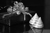 Celebrate all the Nice things! #7DWF  - 2 years! (Ageeth van Geest) Tags: stilllife monochrome blackandwhite bw celebrate 2years 2 7dwf