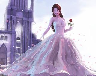 Belle in shadows